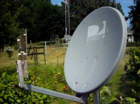 wd4am homebrew wifi dish free idea to mount to a direct tv dish but use a quot n