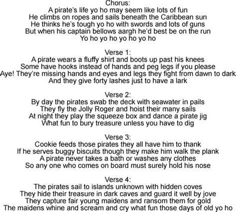 lyrics pattern interrupt erra 17 best images about pirates quot yo ho and a bottle of rum