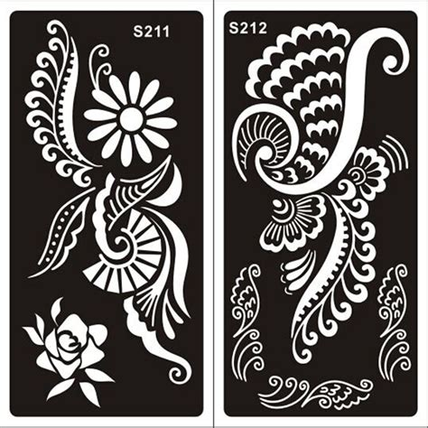 henna design wall stencils desenhos para stencil on pinterest stencil designs