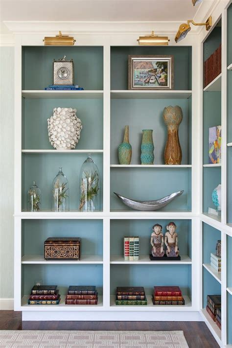house shelves design house of ruby interior design inside cabinets benjamin moore and turquoise