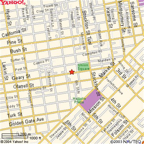 san francisco city map union square the handlery union square hotel is built on a family