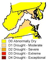 maryland drought map capital weather moderate drought for d c metro area