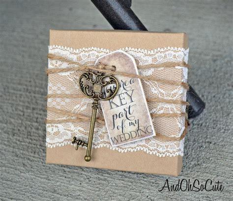 bridesmaids invitation boxes bridesmaid box invitations key lace tag box will you be my bridesmaid invite cards rustic