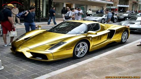 golden ferrari laferrari top hd wallpapers autowpaper com