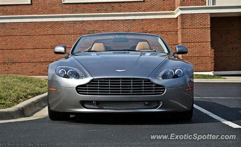 Aston Martin Carolina by Aston Martin Vantage Spotted In Carolina