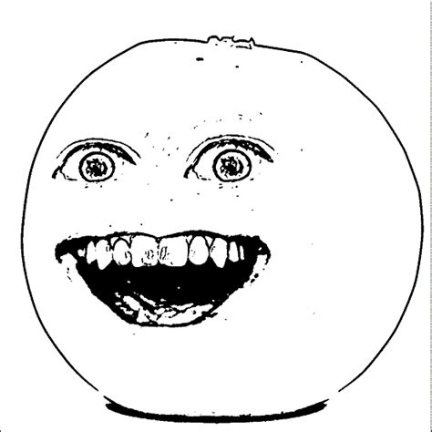 Annoying Orange Coloring Pages printable annoying orange coloring pages coloring me