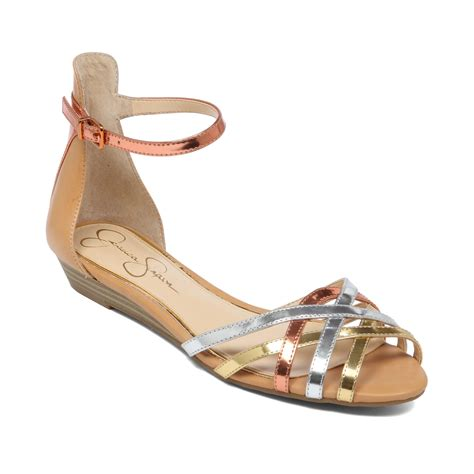 ankle sandals essty strappy ankle sandals in gold