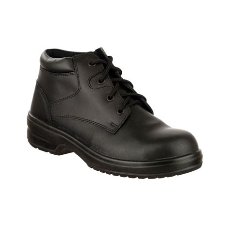lightweight safety boots for charnwood black leather four eyelet lightweight