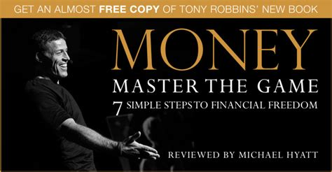 Money Master The get an almost free copy of tony robbins new book money