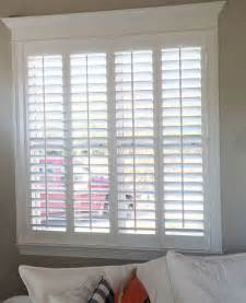 Window Shutter Blinds Best 25 Plantation Shutter Ideas On
