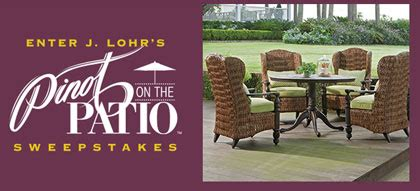 Furniture Sweepstakes Giveaway 2015 - win a 16 000 patio furniture set a gas grill a fire pit and more go sling