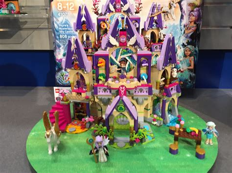 pictures of sky mysterious skyras lego castle elves lego elves skyra s mysterious sky castle photos toy fair