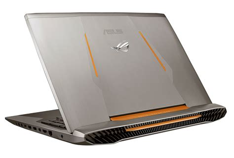 Laptop Asus Rog I7 Asus Previews The Rog Gx700 Series Behemoth Gaming Laptop Liquid Cooled Skylake K Cpu With