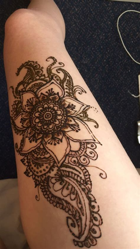 awesome henna tattoos i like this leg henna for summer time awesome skin