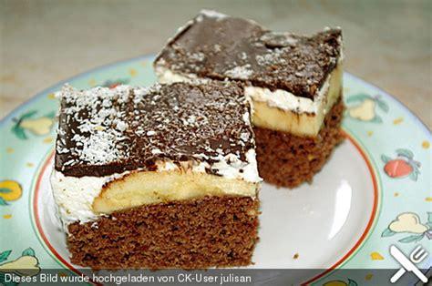 kuchen rezepte einfach und schnell und lecker bananenschnitte schnell und einfach rezept mit bild