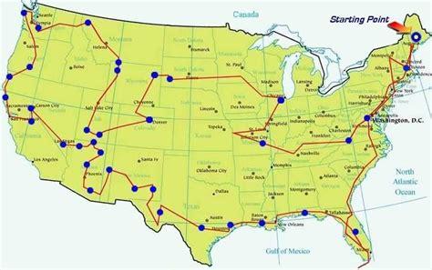 road trip map road trip map