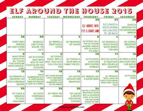elf on the shelf ideas 2015 printable 2015 kindness calendar printable calendar template 2016