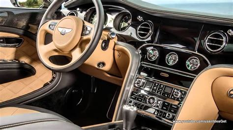 Interiors New Bentley Mulsanne Speed 2015 Youtube