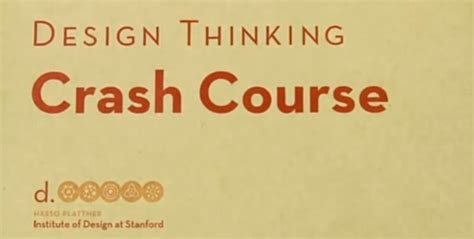 design thinking free online course design thinking crash course best online short courses