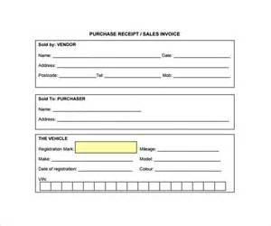 Missing Receipt Form Template by Sle Receipt Template 25 Free Documents In Pdf Word