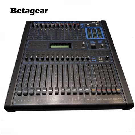 console audio betagear professional digital audio mixing console 12