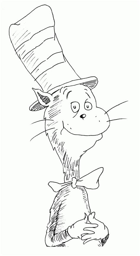 fishing hat coloring page free coloring pages fish cat in the hat coloring home