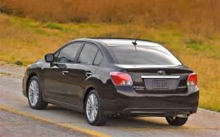 2012 Subaru Impreza Sedan 2012 Subaru Impreza Look Automobile Magazine