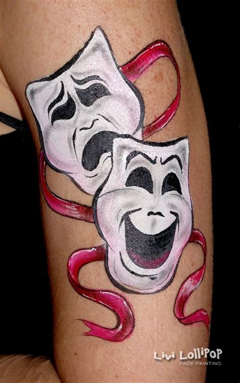 comedy and tragedy tattoo best 25 comedy tragedy masks ideas on comedy
