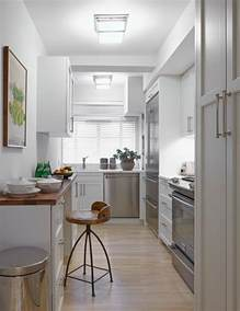 Small Narrow Kitchen Ideas Large Square Pulls Design Ideas