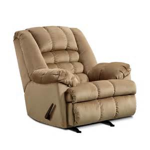 Oversized Rocker Recliner Chair Simmons Malibu Microfiber Oversized Rocker Recliner