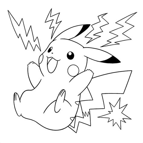 pokemon pikachu coloring pages free free pokemon coloring pages for kids 2016