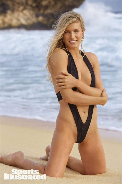 sports illustrated eugenie bouchard in sports illustrated swimsuit issue 2018
