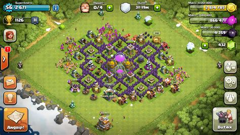 Clash Of Clans Strategy Level 7 Farming Base Design Town Hall | town hall 7 base defense newhairstylesformen2014 com