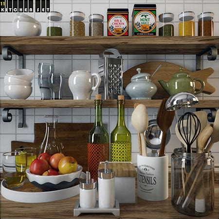 Kitchen Set A Others kitchen set 3 187 best daz3d poses site