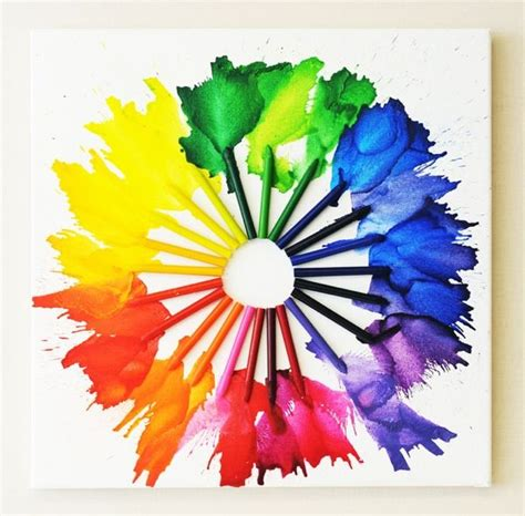 color wheel projects creative color wheel project ideas hative