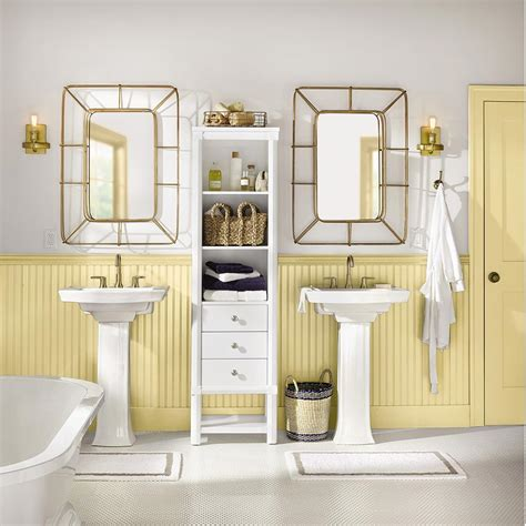 white bathrooms southern living liz perry