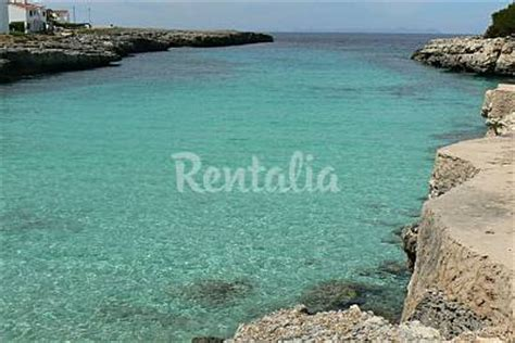 in affitto a minorca sulla spiaggia spiaggia cala blanca a ciutadella de menorca minorca