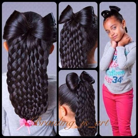 braided hairstyles with weave for teenagers diy bow braid for trendy fashion jewelry kitsy