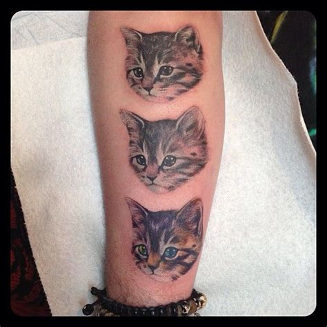 black kat tattoo 25 best ideas about kitten on cat tat