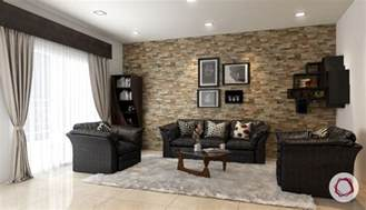Stone Wall Living Room stone wall cladding ideas