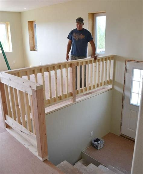 How To Make A Banister For Stairs by Best 25 Loft Railing Ideas On Cable Railing