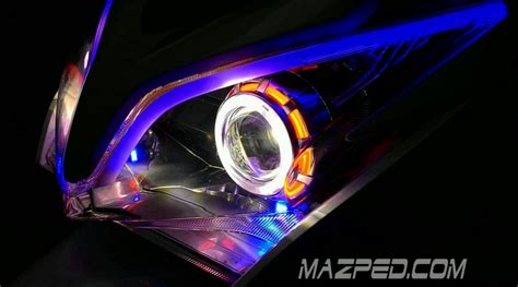 Lu Projie Untuk Vario 125 vidio sinar projie cob vario 125 mazpedia