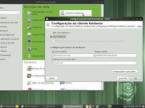 linux participacao  dominio  windows