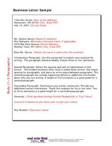 Business Letter Writing Format Sample Pdf Business Letter Sample Pdfsr Com