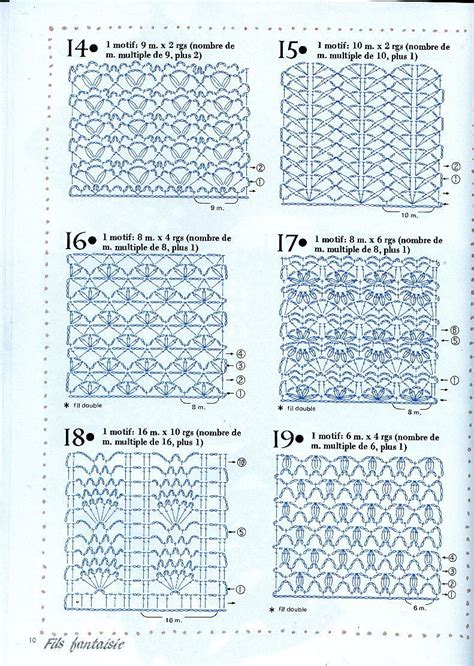 crochet pattern and diagram diagrams for crochet stitch patterns crochet pinterest