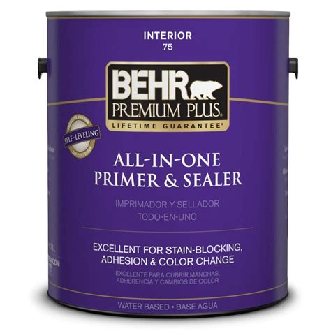 behr paint primer colors behr premium plus 1 gal stain blocking primer and sealer