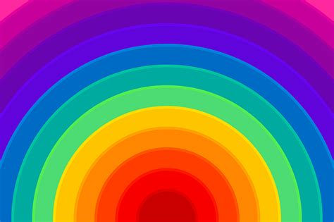 illustration rainbow background colorful