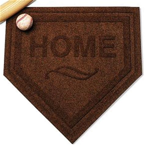 home plate welcome mat home decor