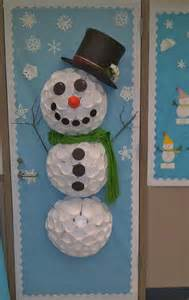 this winter door decoration is beautiful it was shared