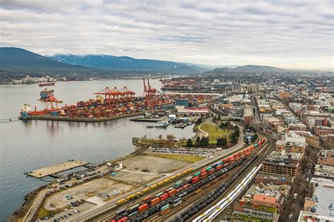 canada business  ports monitoring vancouvers flat